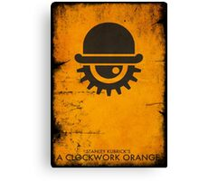 VINTAGE POSTER : CLOCKWORK ORANGE Canvas Print