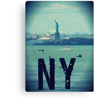 new york city, statue of liberty Canvas Print