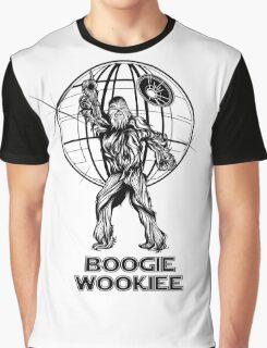 Saturday Night Wookiee - Chewbacca Gets Down Graphic T-Shirt