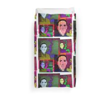 HP LOVECRAFT, AMERICAN GOTHIC WRITER, COLLAGE Duvet Cover