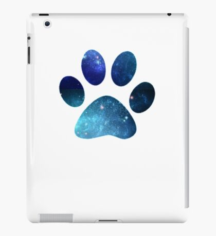 Space Cat Paw Pattern iPad Case/Skin