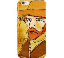 Vincent Van Gogh, Dutch post-impressionist painter iPhone Case/Skin
