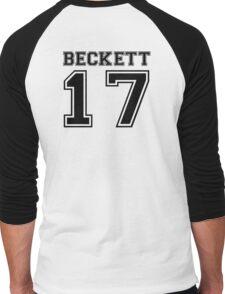 Beckett #17 - Varsity Style Men's Baseball ¾ T-Shirt