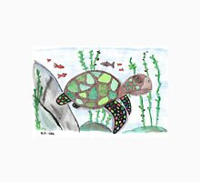 Turtle animal watercolor art Unisex T-Shirt