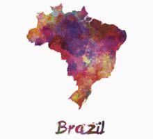 Brazil in watercolor Baby Tee