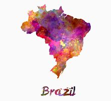 Brazil in watercolor Unisex T-Shirt