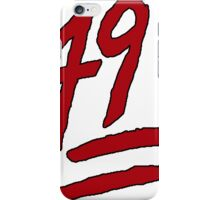 49ers iPhone Case/Skin