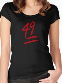 49ers Women's Fitted Scoop T-Shirt