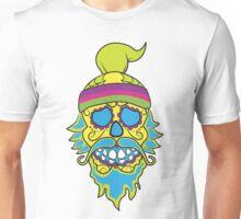 Hipster Skull Unisex T-Shirt