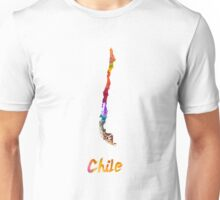 Chile in watercolor Unisex T-Shirt