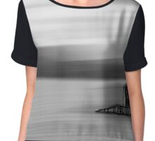 Blurred Reality Chiffon Top