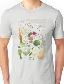 Winter Vegetables Unisex T-Shirt