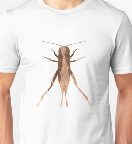 Insect Jumper Texture Outline Unisex T-Shirt