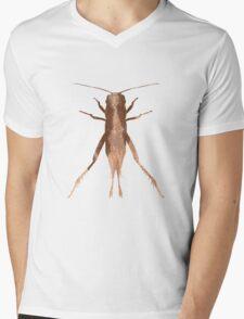 Insect Jumper Texture Outline Mens V-Neck T-Shirt
