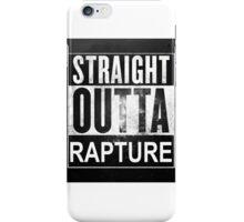 Straight Outta Rapture iPhone Case/Skin