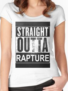Straight Outta Rapture Women's Fitted Scoop T-Shirt