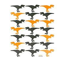 Dinomania C Photographic Print