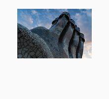 Capricious Trencadis Mosaics – Antoni Gaudi's Quirky Chimneys at Casa Batllo in Barcelona Unisex T-Shirt