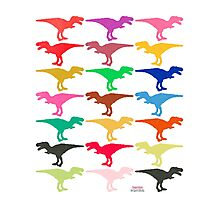 Dinomania E Photographic Print