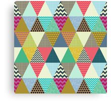 New York Beauty triangles Canvas Print