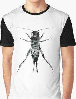 Insect Jumper Texture Outline 02 Graphic T-Shirt