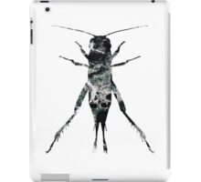 Insect Jumper Texture Outline 02 iPad Case/Skin