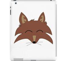 Red Fox Head iPad Case/Skin