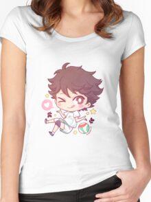 Tooru Oikawa Women's Fitted Scoop T-Shirt