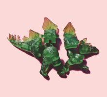 Puzzled stegosaurus One Piece - Short Sleeve