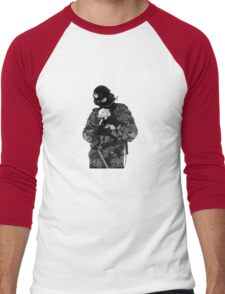 Support the troops Men's Baseball ¾ T-Shirt