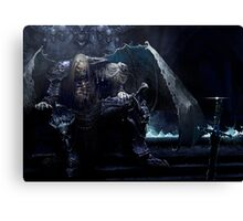 dead knight Canvas Print