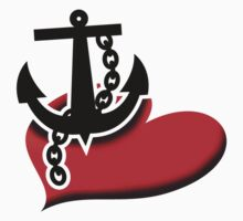 Anchor love Kids Tee