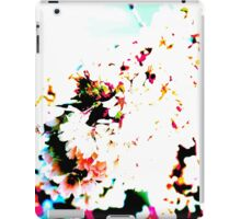 Abstract Spring Blossom, White. iPad Case/Skin
