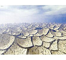 Barren Arid Landscape Photographic Print