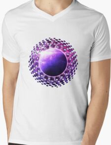 Deep Dream Fractal Mandala -- Deep Space Galaxy Dreamer Mens V-Neck T-Shirt