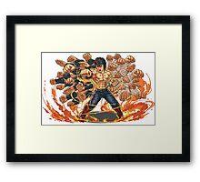 Kenshiro  Framed Print