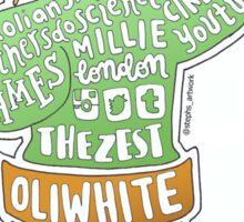 Oli White (Youtuber) Collage Sticker