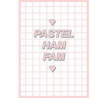 pastel ham fam Photographic Print