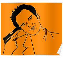 Quentin Tarantino Suicide Poster