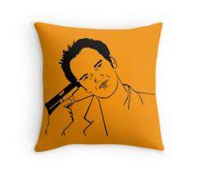 Quentin Tarantino Suicide Throw Pillow