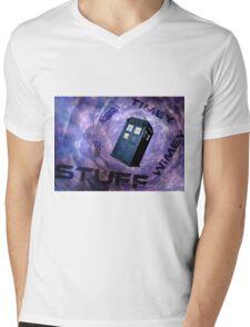Timey Wimey Stuff Mens V-Neck T-Shirt