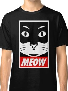Obey Cat Meow Classic T-Shirt