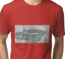 Cornish Mackerel Tri-blend T-Shirt