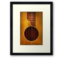 Instrument - String - Let's play some music  Framed Print