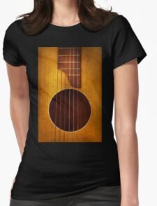 Instrument - String - Let's play some music  Womens Fitted T-Shirt
