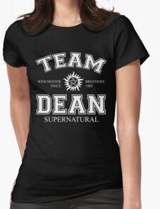 Supernatural Team Dean Womens Fitted T-Shirt