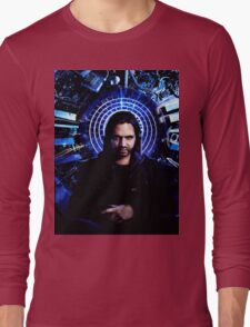 12 monkeys - Cole portrait Long Sleeve T-Shirt