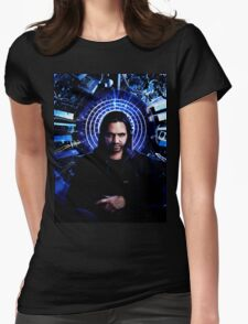 12 monkeys - Cole portrait Womens Fitted T-Shirt
