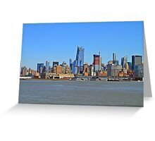 New Addition To The New York Skyline Greeting Card