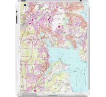 USGS TOPO Map Rhode Island RI East Greenwich 353284 1957 24000 iPad Case/Skin